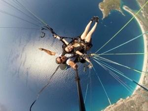 Paragling ở Oludeniz thổ nhĩ kỳ