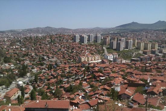 thủ đô ankara nhìn từ cao
