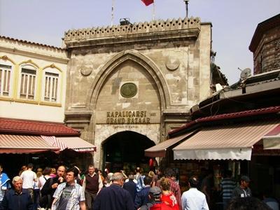 cổng vào chợ grand bazaar