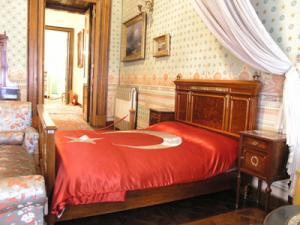 giường nơi ataturk chết