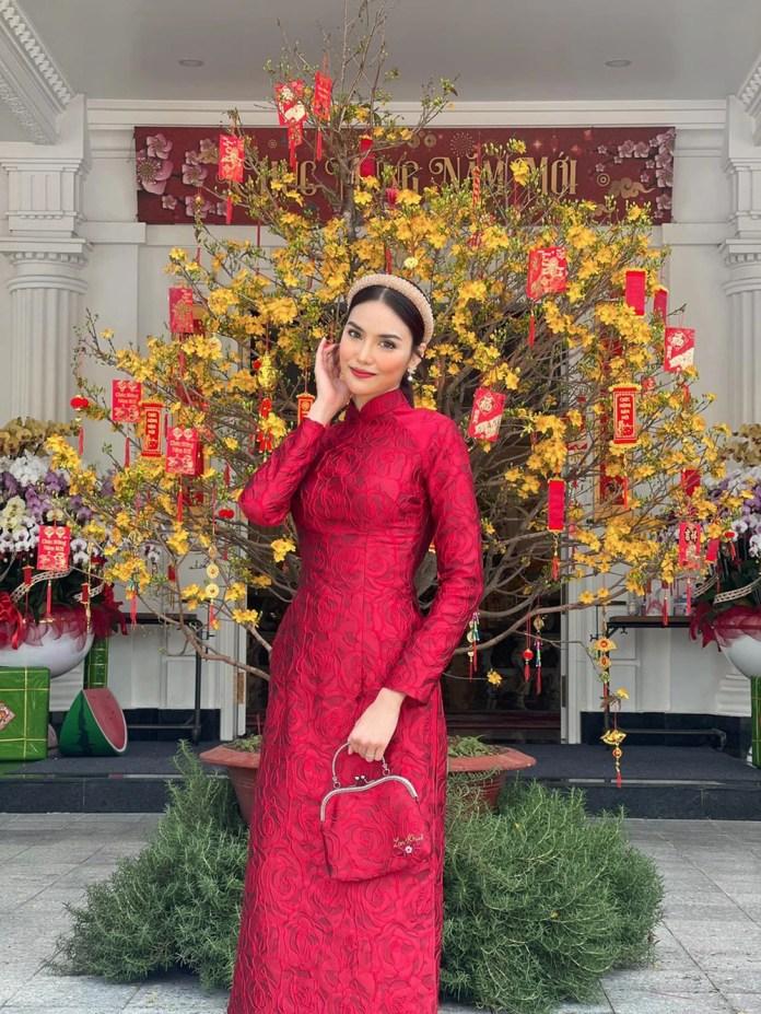 Đỗ Thị Hà và dàn Hoa hậu diện áo dài đầu xuân, ai cũng xinh đẹp ngút ngàn - Ảnh 19.
