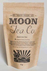 圖:在卑詩省和網上銷售的新月茶品公司出品的日昇茶,恐遭沙門氏菌污染,消費者請勿飲用。(CFIA)