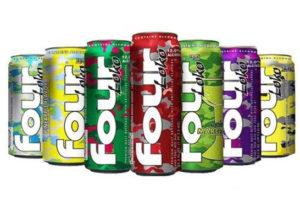 圖:四洛克啤酒(Four Loko)又在美國和加拿大流行,因其後勁強又被稱為「斷片酒」或「失身酒」。(Four Loko廠商)