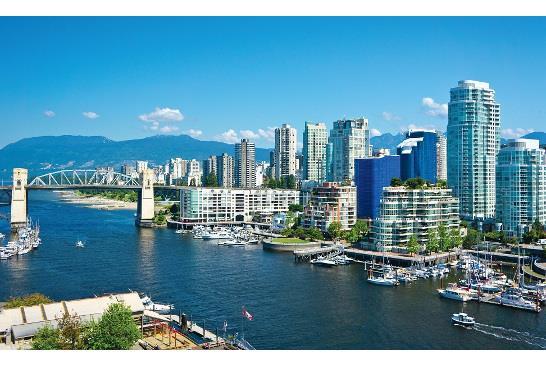 圖:加拿大房貸及房屋公司7月27日發表季度《樓房市場評估》報告表示,有強有力證據顯示溫哥華與多倫多兩大地區樓市已經呈現問題狀況。(攝影:王圓 / 看中國)