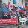 溫哥華多族裔團體集會譴責中共暴政