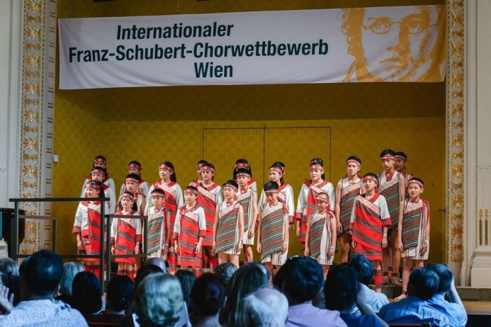 The choir from Taiwan attended the 31st Franze Schubert Choir Competition in Vienna (5/30- 6/3, 2018
