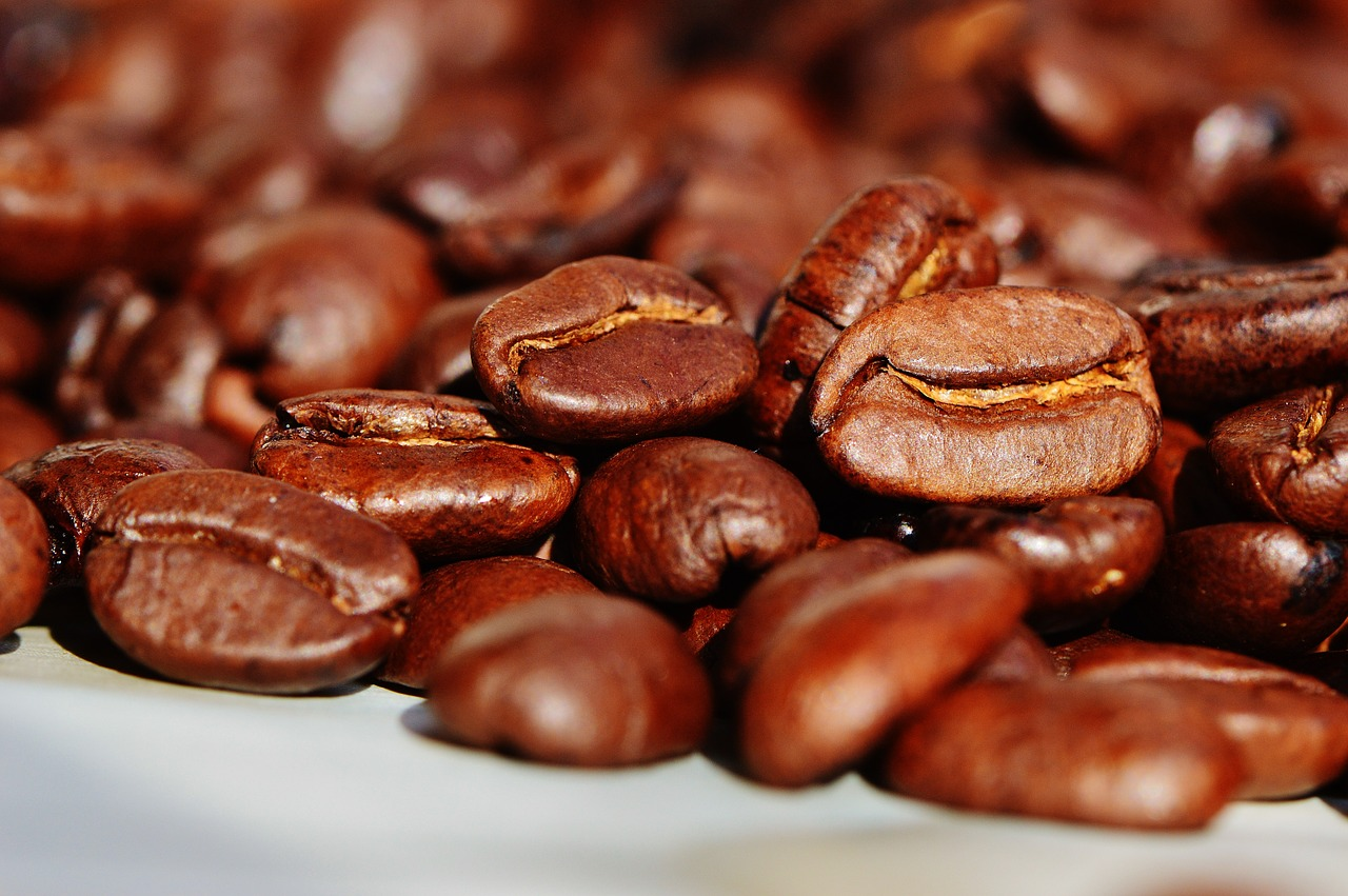 Caffeine Coffee Beans Cafe Roasted Brown Coffee. (Image: Maxpixel / CC BY 1.0 )