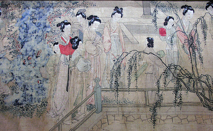 Various Chinese hairstyles. During the Ming dynasty (1368 CE to 1644 CE), there was a population boom in China. Women during this period used to tie hair in buns and adorn it using ornaments. (Image: hua.umf.maine.edu / CC0 1.0)