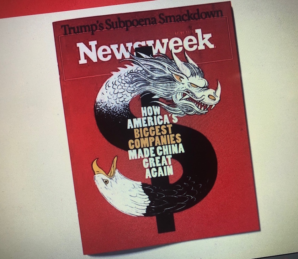 A photo of the cover of Newsweek from an edition published in June 2019. (Image: Nspirement)