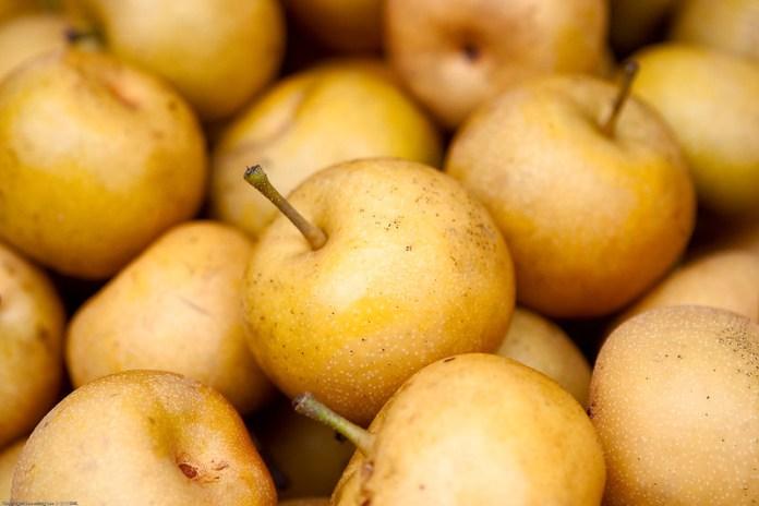 Asian pears.