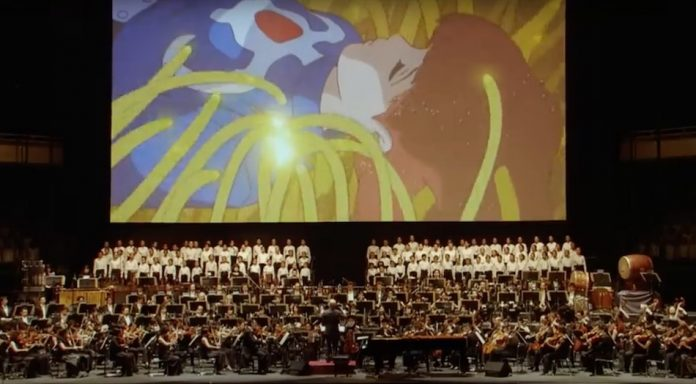 Joe Hisaishi at the 25th Anniversary Studio Ghibli Concert