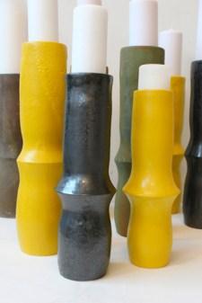 Doji kertastjaki, candlestick ceramic, keramík hönnun