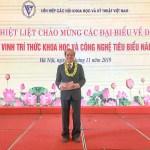 TS.Vũ Văn Bằng được vinh danh tại Lễ tôn vinh trí thức khoa học và công nghệ tiêu biểu năm 2019