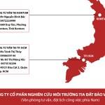 Thông báo: Công ty CP Nghiên cứu Môi trường Tia đất BVSK thành lập văn phòng tư vấn tại Tp. HCM và Kontum