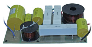 Very high power passive crossover network components