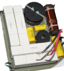a-8 crossover utilizing very high power components and hand hand wound inductors