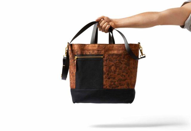 mylo driver bag, vegan bags, mushroom leather, mylo leather, leather alternatives, kickstarter bags, best kickstarter projects, small business community, vue45, vue 45, women entrepreneurs, female entrepreneurs, support for women entrepreneurs, small retailers