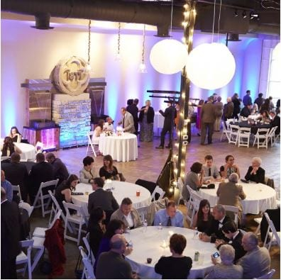 Modern unique wedding venue in downtown columbus ohio vue overview of our wedding venue pricing junglespirit Images