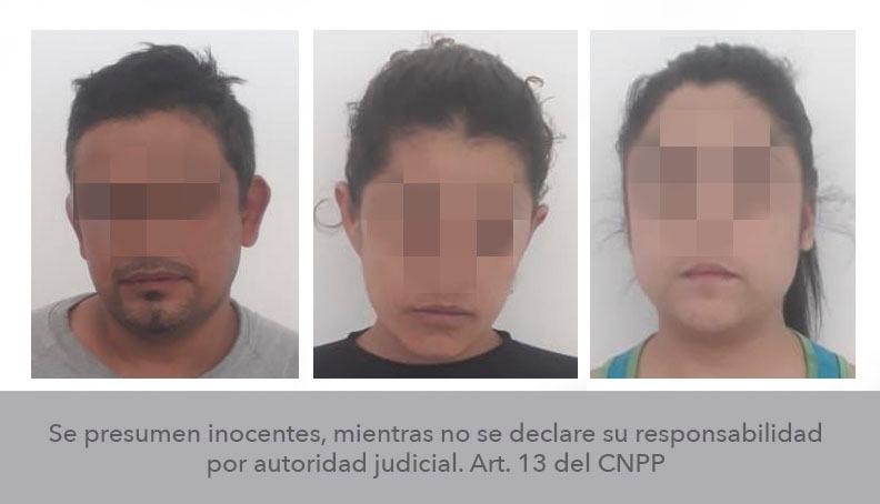 Capturan a 3 personas por homicidio y robo a mujer encontrada en Santa María del Río