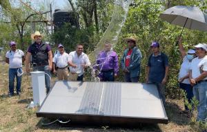 El candidato a gobernador anunció que el próximo sábado se hará una demostración de la funcionalidad de unidades con energía solar