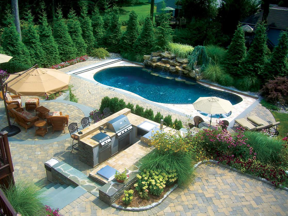 Outdoor Living: Backyard Luxury - Vue Magazine on Luxury Backyard Design  id=99830