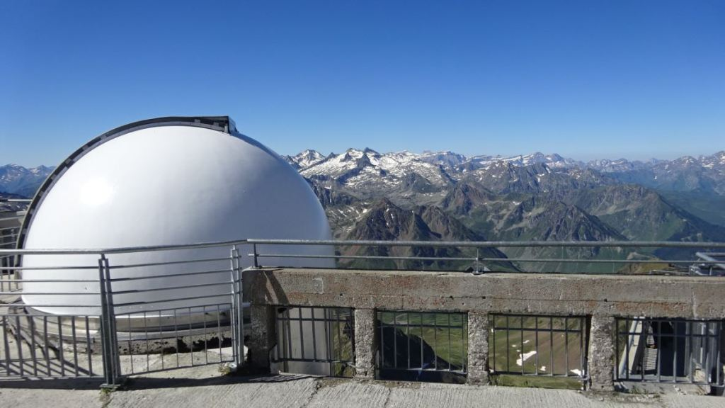 Research to Pic du Midi Observatory 9