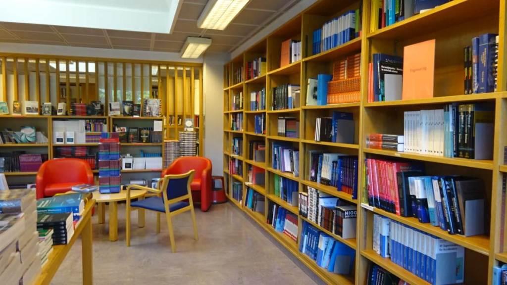 visiting CERN library 40