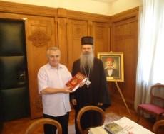 Славко Вејиновић и Владика Теодосије