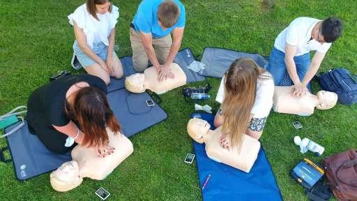 Dalyvavome pirmosios pagalbos kursuose