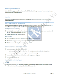 illustration of a checklist used at teh law office of hieu vu