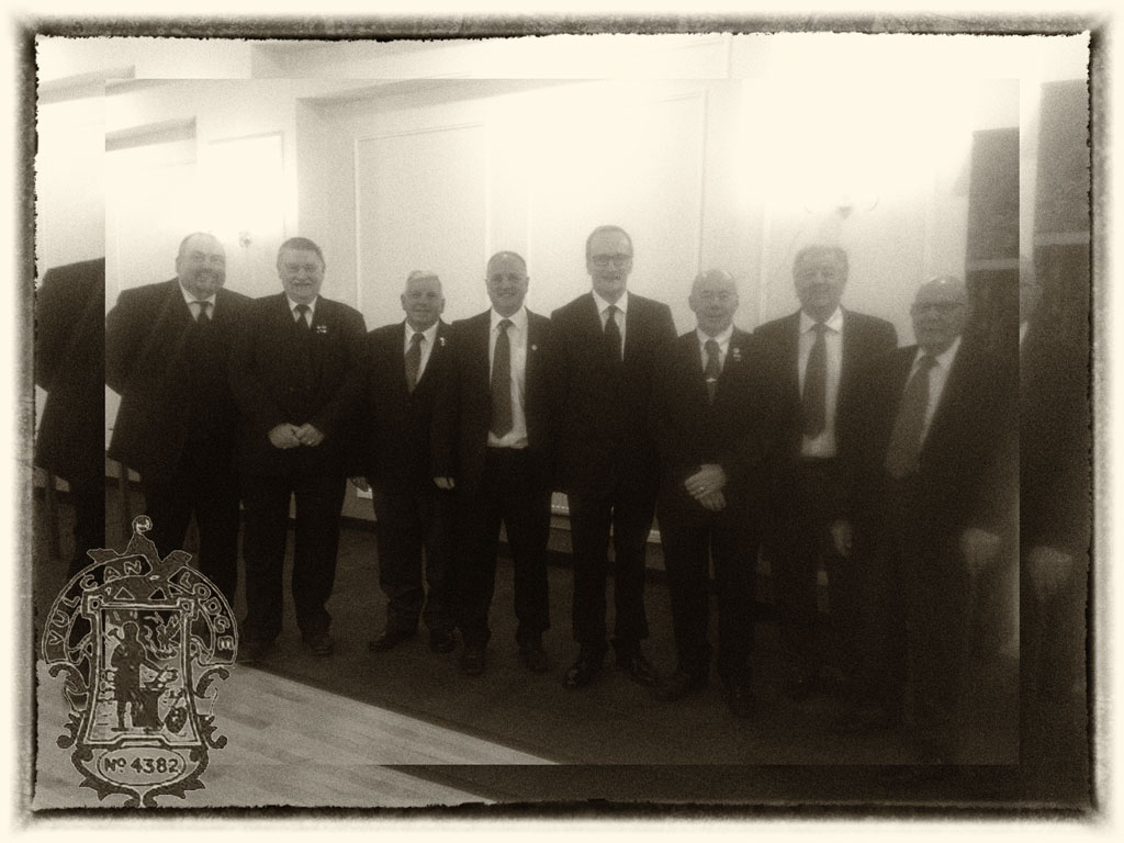 Vulcan Lodge starts the season with a Fraternal visit to Littleover Lodge 9565