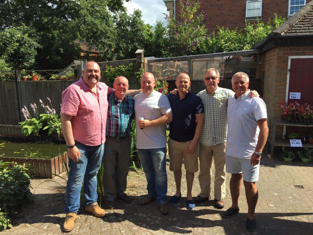 Picture of Brothers of Vulcan Lodge at Morcar Lodge Summer Barbecue