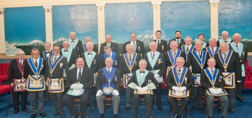 Picture of Four Vulcans Fraternal Visit to Blackhill