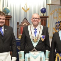 Vulcan Lodge visit Old St.Edwards Lodge 5162 in Oxfordshire
