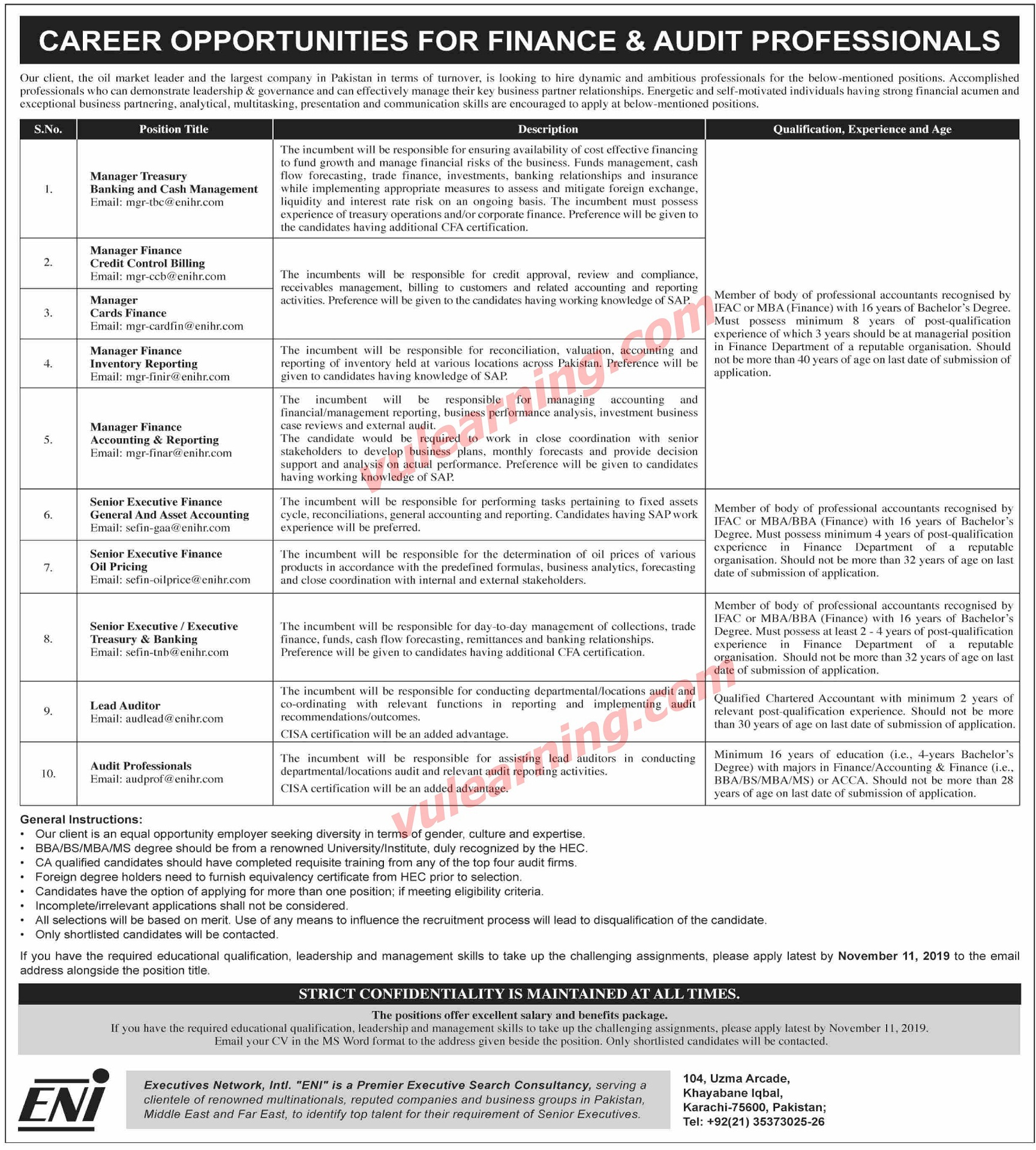 Oil Amp Gas Sector Company Jobs For Managers Sr