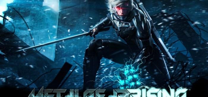 Metal Gear Rising splash