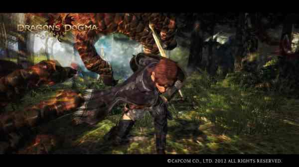 Dragons Dogma grasping beast