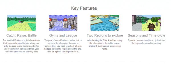 Pokemon 3D Key Features 1