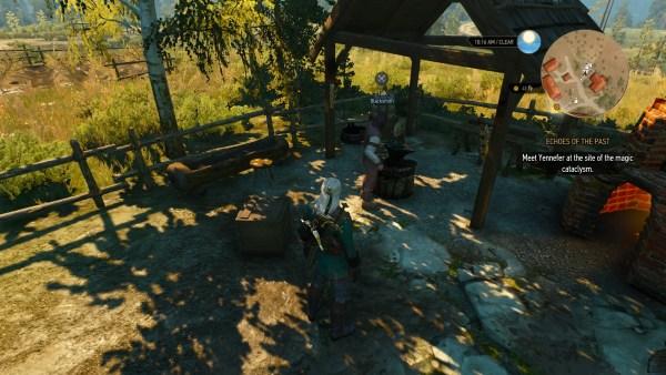 Blackbough blacksmith in The Witcher 3 Wild Hunt