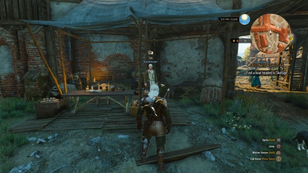 Crow's Perch Quartermaster in The Witcher 3 Wild Hunt