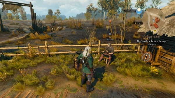Lindenvale blacksmith in The Witcher 3 Wild Hunt