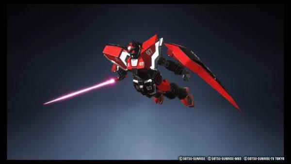 Gundam Breaker 3 image capture mode