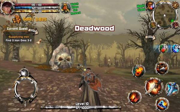 crimson warden screenshot