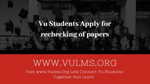 Apply for rechecking of papers