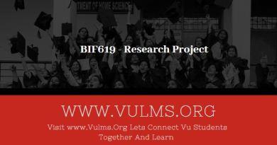 BIF619 - Research Project