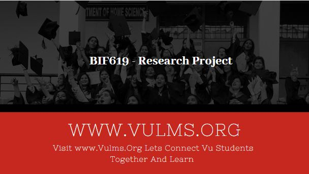 BIF619 - Research Project