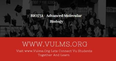BIO731 - Advanced Molecular Biology