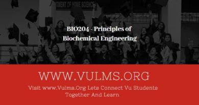 BIO204 - Principles of Biochemical EngineeringBIO204 - Principles of Biochemical Engineering