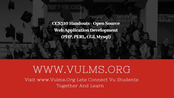 CS310 Handouts