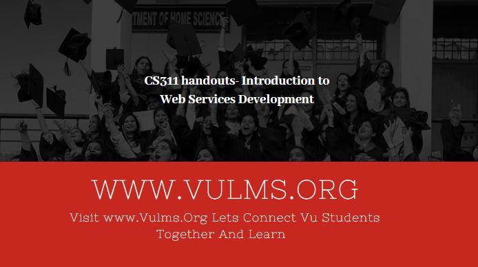 CS311 - Introduction to Web Services Development